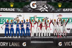 Nelson Canache, Spencer Pumpelly, Tim Pappas, Markus Winkelhock, Madison Snow, Jan Heylen, Marco See
