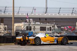 Rodada para #8 Starworks Motorsport ORECA FLM09 Chevrolet: Mirco Schultis, Renger van der Zande, Eri