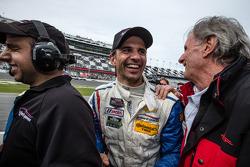 Vainqueur: Christian Fittipaldi heureux