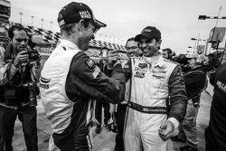 Vainqueurs: Christian Fittipaldi et Sébastien Bourdais heureux
