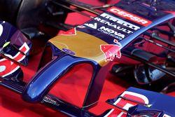 De nieuwe Scuderia Toro Rosso STR9 wordt onthuld, neus