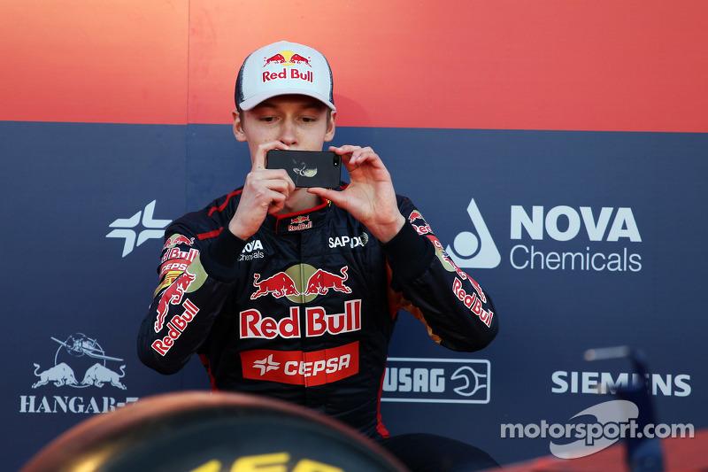 Daniil Kvyat, Scuderia Toro Rosso Scuderia Toro Rosso STR9 lansmanında