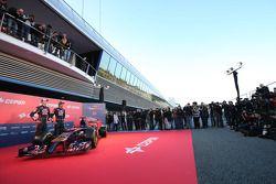 Daniil Kvyat, Scuderia Toro Rosso ; Jean-Eric Vergne, Scuderia Toro Rosso