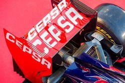 Scuderia Toro Rosso STR9 rear wing detail