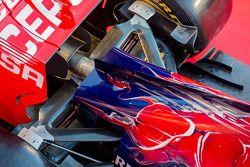 Scuderia Toro Rosso STR9 engine cover detail