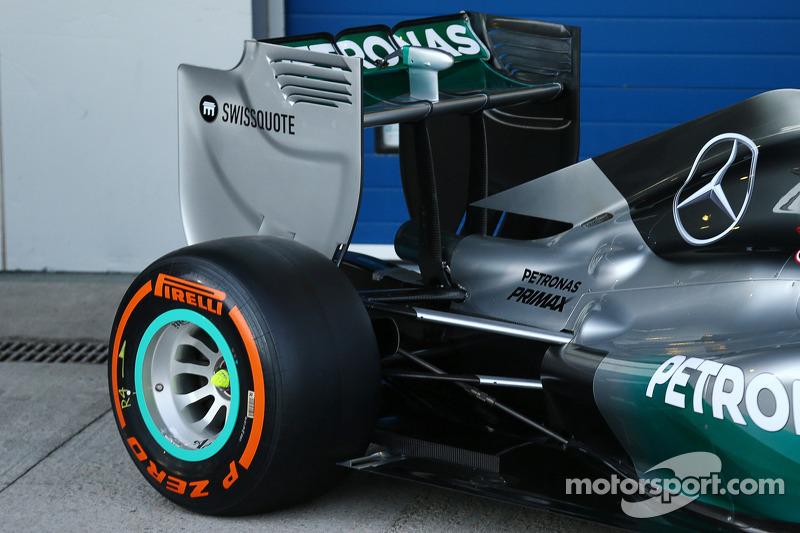 Mercedes AMG F1 W05: Detail