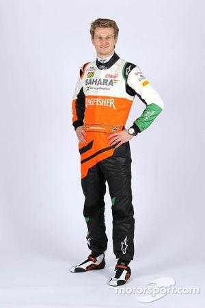 Нико Хюлькенберг. Презентация Sahara Force India F1 VJM07, Презентация.