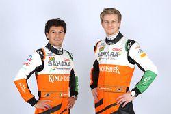 Nico Hülkenberg und Sergio Perez, Sahara Force India F1