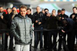 Nico Rosberg, Mercedes AMG F1 alla presentazione della nuova Mercedes AMG F1 W05