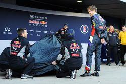 Sebastian Vettel, Red Bull Racing en la revelación del Red Bull Racing RB10