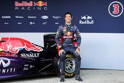 Daniel Ricciardo, Red Bull Racing en la presentación del nuevo Red Bull Racing RB10