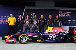 The unveiling of the Red Bull Racing RB10