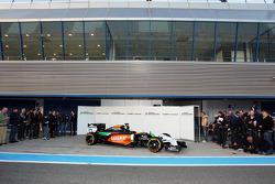 全新印度力量F1 VJM07赛车发布