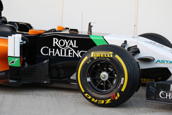Sahara Force India F1 VJM07 lancering - sidepod detail