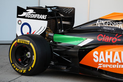 Sahara Force India F1 VJM07 lancering - achtervleugel detail