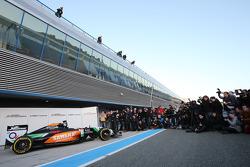 De nieuwe Sahara Force India F1 VJM07 wordt onthuld