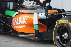 Sahara Force India F1 VJM07 chassis detail