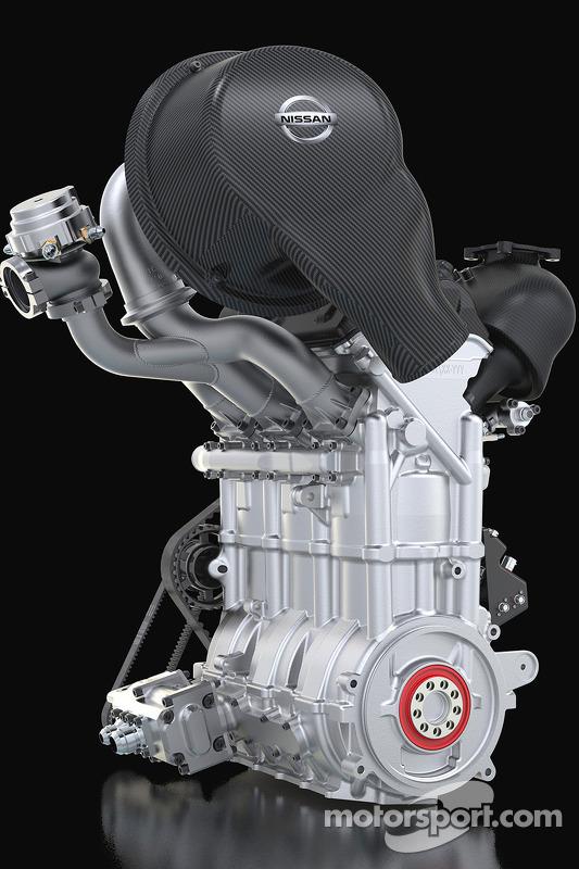 Nissan Zeod Engine; 1,5 litro de três cilindros turbo
