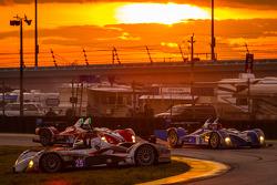 Tête à queue - #25 8Star Motorsports ORECA FLM09 Chevrolet: Enzo Potolicchio, Tom Kimber-Smith, Mich