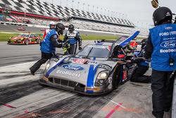 进站:#60 Michael Shank Racing和Curb/Agajanian Riley DP 福特 EcoBoost: John Pew, Oswaldo Negri, A.J. Allmendinger, Justin Wilson