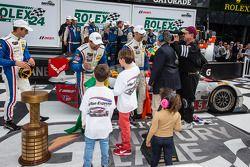 P组获胜队伍: 组别和全组获胜者 Christian Fittipaldi, Joao Barbosa,和塞巴斯蒂安·布尔戴斯