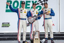 P组领奖台: 组别和全组获胜者 Joao Barbosa, Christian Fittipaldi, 塞巴斯蒂安·布尔戴斯