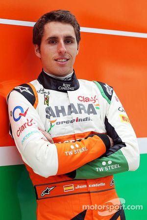 Daniel Juncadella, Sahara Force India F1 Team Piloto de Pruebas y de reserva