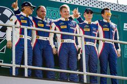 Boris Rotenberg, Sergey Zlobin, Mika Salo, Maurizio Mediani, Mikhail Aleshin