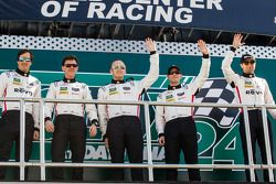 Bill Sweedler, Scott Tucker, Jeff Segal, Alessandro Pier Guidi, Townsend Bell