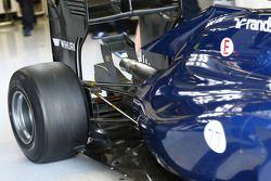 Valtteri Bottas, Williams FW36 detalhe suspensão traseira