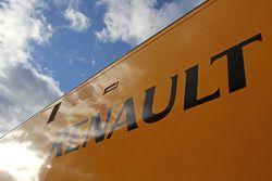 Renault F1 Sport truck. Formula 1, teste, Dia 2, quarta-feira