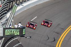 #07 SpeedSource Mazda Mazda: Tristan Nunez, Joel Miller, Tristan Vautier, #70 SpeedSource Mazda Mazda: Sylvain Tremblay, Tom Long, James Hinchcliffe
