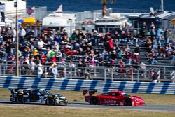 #99 GAINSCO / Bob Stallings Racing Corvette DP Chevrolet: Alex Gurney, Jon Fogarty, Darren Law, Memo Gidley, #27 Dempsey Racing Porsche 911 GT America: Patrick Dempsey, Joe Foster, Andrew Davis, Marc Lieb