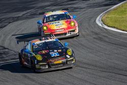 #71 Park Place Motorsports 保时捷 911 GT America: 吉姆·诺曼, 克里格·斯坦顿, 诺伯特·西德勒, 蒂莫·贝恩哈德, #73 Park Place Moto