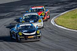 #27 邓普希 Racing 保时捷 911 GT America: 帕特里克·邓普希, 乔·福斯特, 安德鲁·戴维斯, 马克·里布, #81 GB Autosport 保时捷 911 GT Amer