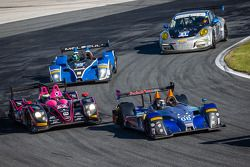 #08 RSR Racing ORECA FLM09: Chris Cumming, Alex Tagliani, Rusty Mitchell, Conor Daly ; #42 OAK Racin
