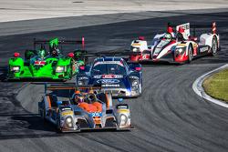 #25 8Star Motorsports ORECA FLM09 Chevrolet: Enzo Potolicchio, Tom Kimber-Smith, Michael Marsal ; #6