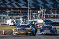 #44 Magnus Racing Porsche 911 GT America Porsche: John Potter, Andy Lally, Wolf Henzler, Jean-François Dumoulin