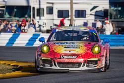 #73 Park Place Motorsports 保时捷 911 GT America: 派特里克·林德赛, 凯文·埃斯特雷, 康诺·德菲利皮, 简森·哈特, 迈克·韦斯