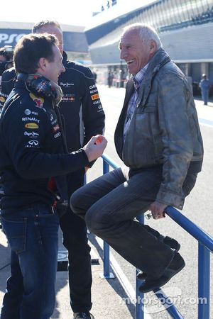 Christian Horner, Red Bull Racing, Direttore Sportivo e Dietrich Mateschitz, Proprietario Red Bull