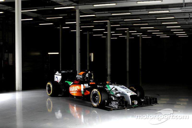 De Sahara Force India F1 VJM07