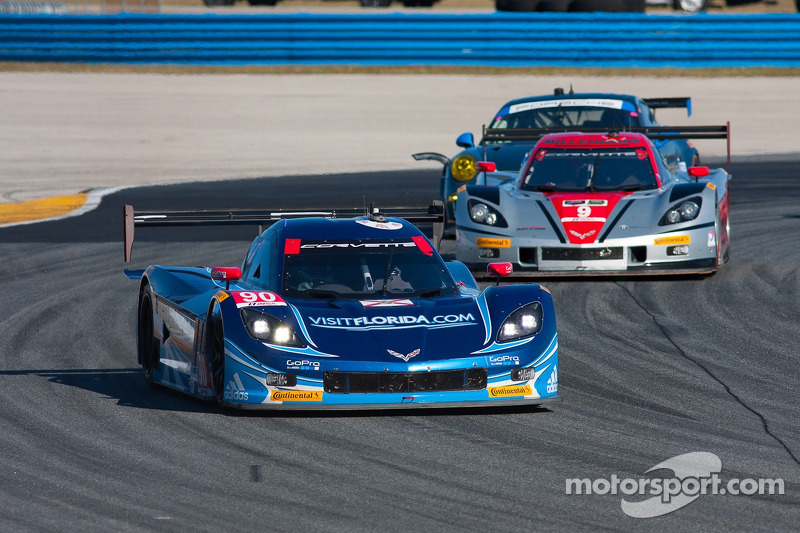 #90 Spirit Of Daytona Corvette DP Chevrolet: Richard Westbrook, Michael Valiante, Mike Rockenfeller