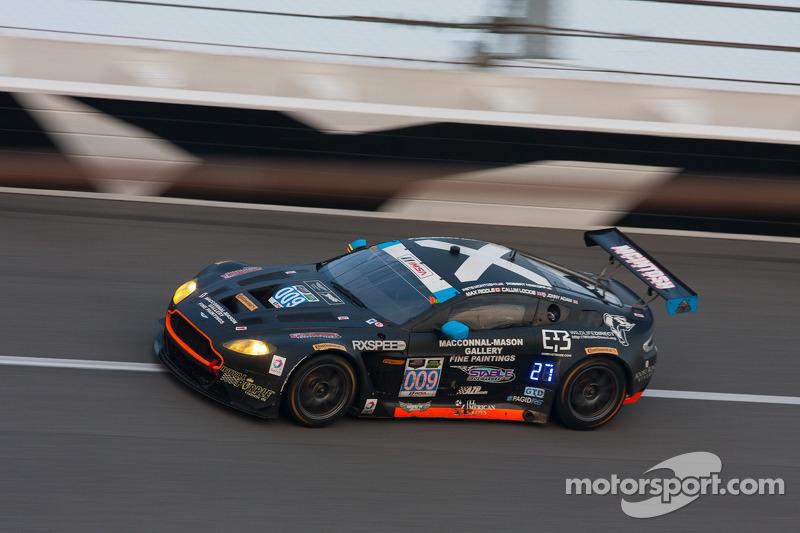 #009 TRG-AMR Aston Martin V12 Vantage: Calum Lockie, Pete McIntosh, Robert Nimkroff, Max Riddle, Jon