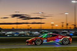 #51 Spirit of Race 法拉利 458 Italia: 马特·格里芬 , 马尔科·乔奇, 米歇尔·鲁格罗, 杰克·耶贝尔