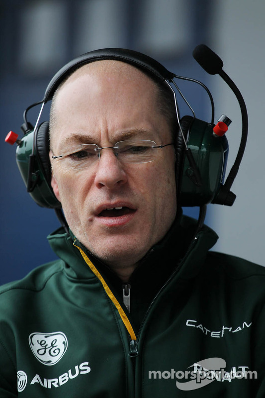 Mark Smith, Diretor técnico da Caterham F1