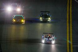 #54 CORE autosport ORECA FLM09: Jon Bennett, Colin Braun, Mark Wilkins, James Gue, #27 Dempsey Racin