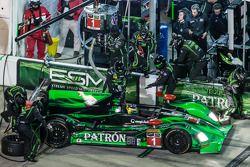 Arrêt au stand - #1 Extreme Speed Motorsports HPD ARX-03b Honda: Scott Sharp, Ryan Dalziel, David B