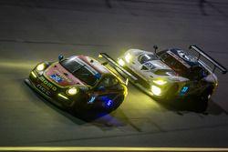 #30 NGT Motorsport Porsche 911 GT America: Henrique Cisneros, Christina Nielsen, Nicki Thiim, Kuba Giermaziak, #33 Riley Motorsports SRT Viper GT3-R: Ben Keating, Jeroen Bleekemolen, Sebastiaan Bleekemolen, Emmanuel Collard