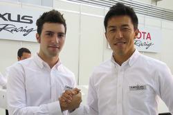 Andrea Caldarelli et Daisuke Ito