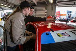 Installation de la caméra 360 Motorsport.com sur la Ferrari 458 Italie #63